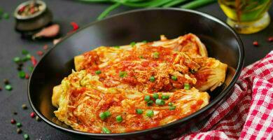 propiedades del kimchi