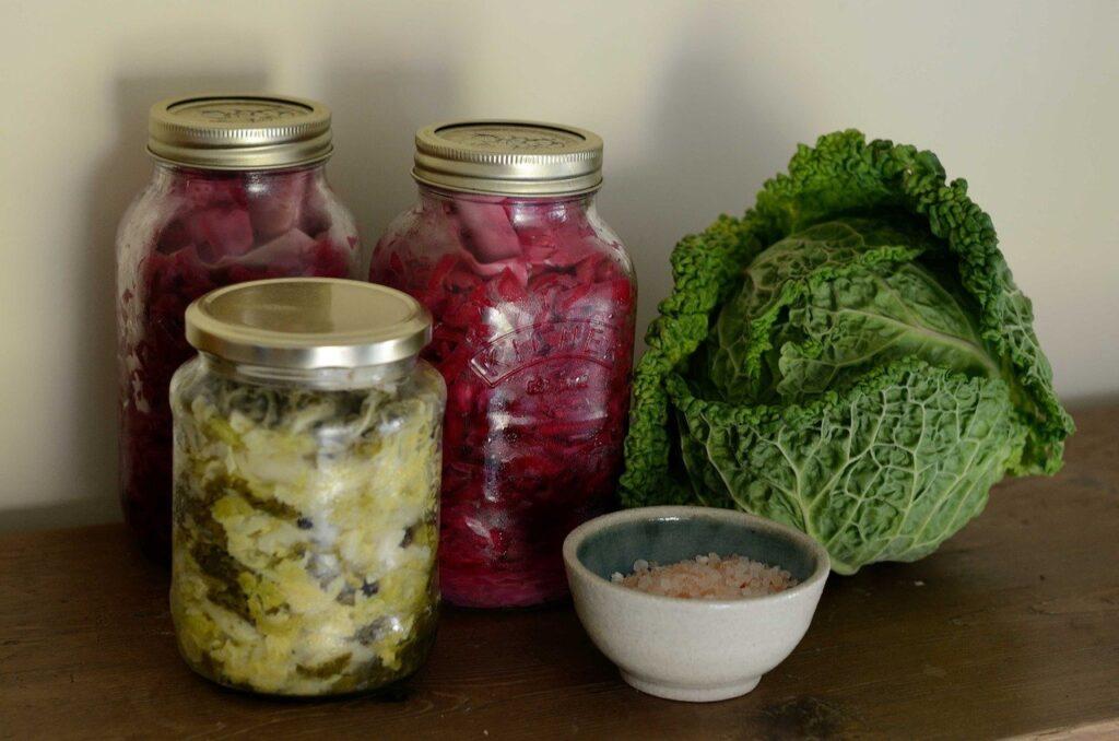cómo hacer chucrut fermentado